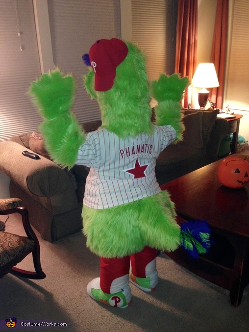 Phillie Phanatic Homemade Costume