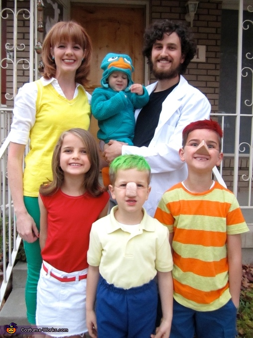 Phineas & Ferb Family Costume