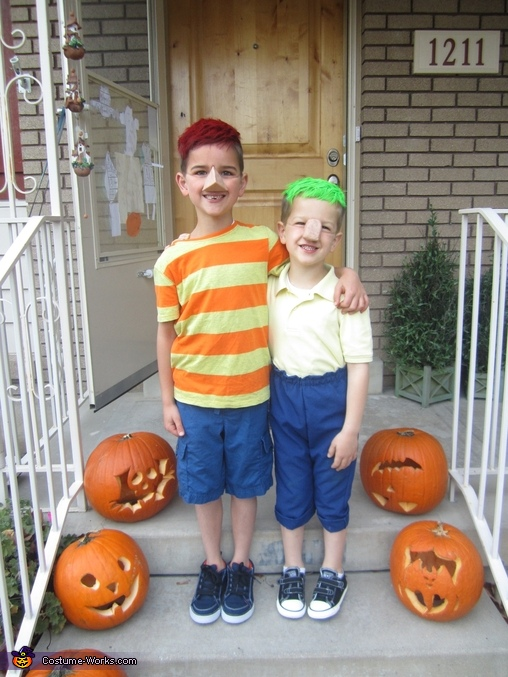 Phineas and Ferb, Phineas & Ferb Family Costume