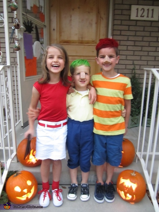 Candace, Phineas, and Ferb, Phineas & Ferb Family Costume
