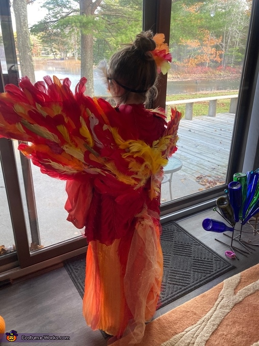 Phoenix Homemade Costume