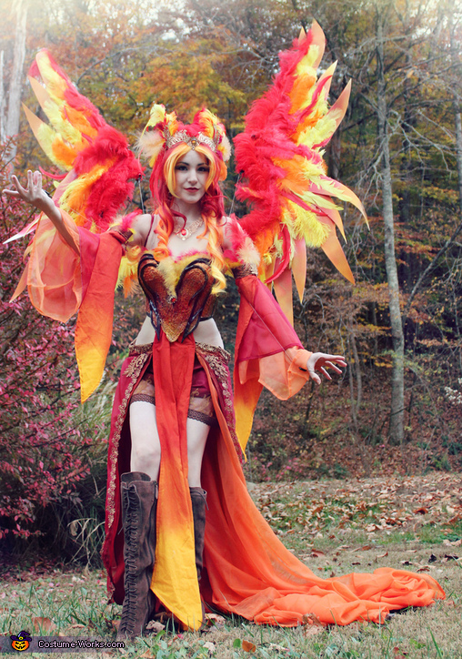 Creative DIY Phoenix Costume