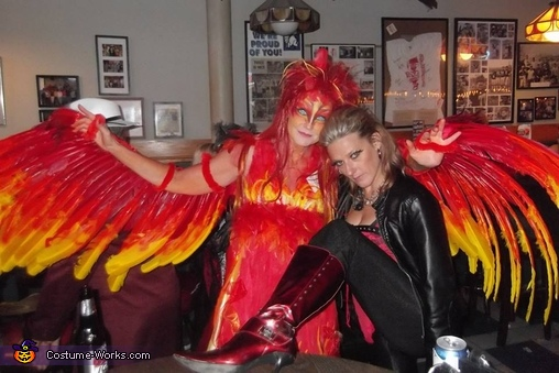 DIY Phoenix Costume