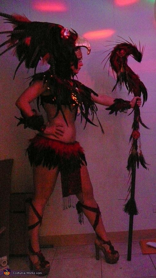 Phoenix Warrior Costume