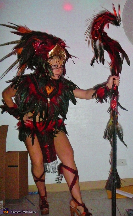 Phoenix Warrior Costume