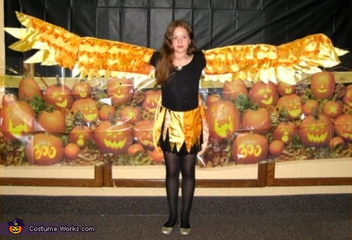 Phoenix Bird - Homemade costumes for girls