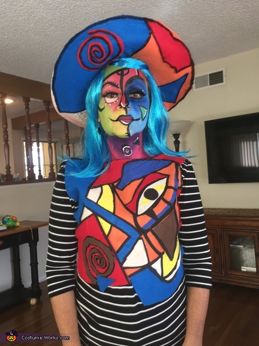 Picasso Paint Homemade Costume