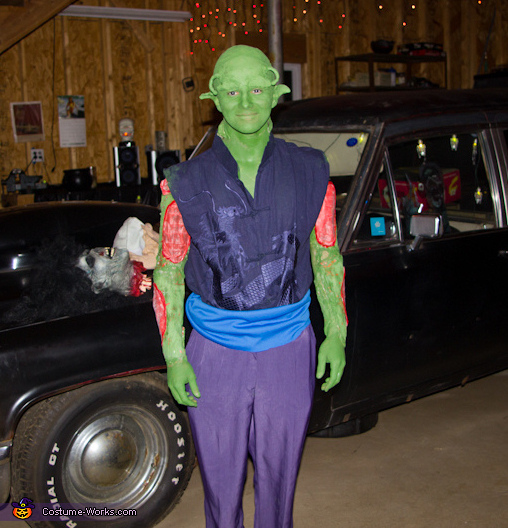 Final Product, Piccolo from Dragon Ball Z Costume