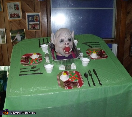 Pig Dinner Costume