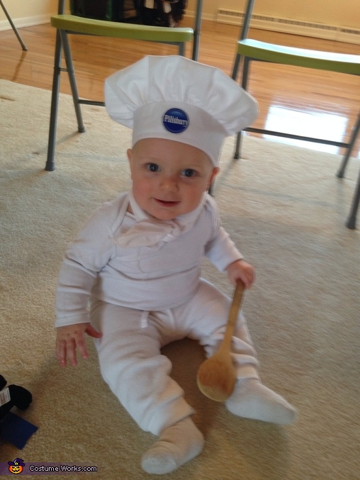 Pillsbury Dough Boy Baby Costume