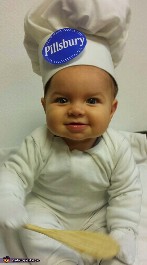 Pillsbury Doughboy Baby Costume