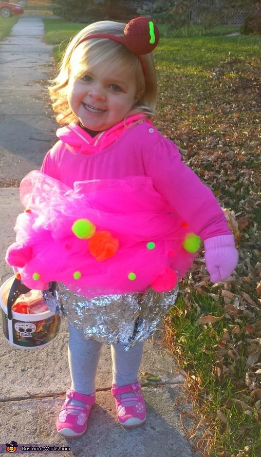 Adalie the cupcake, Pillsbury Doughboy Baby Costume