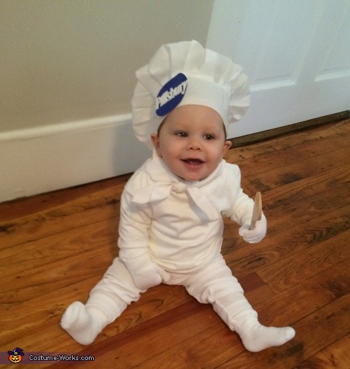 Chef Noah, Pillsbury Doughboy Baby Costume