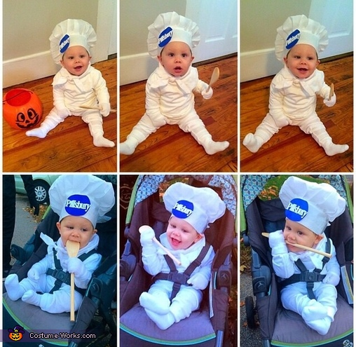 Happy Halloween!!, Pillsbury Doughboy Baby Costume
