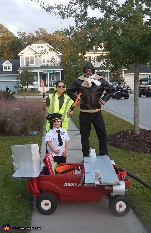 Pilot, Aviator and Marshaller Costume