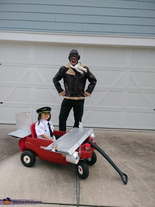 Pilot, Aviator and Marshaller Homemade Costume