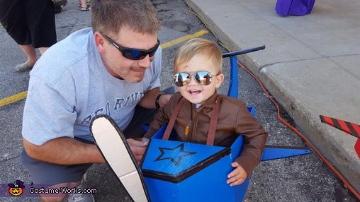 Pilots Homemade Costume