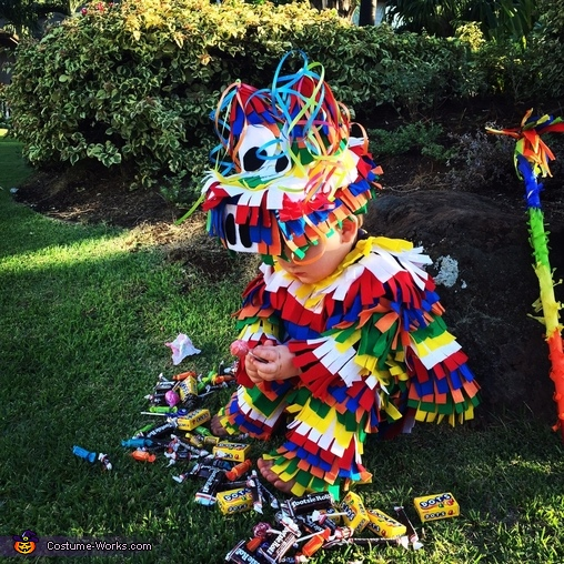 Pinata Homemade Baby Costume