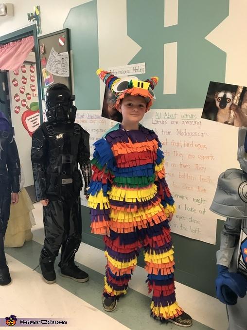 Piñata Homemade Costume
