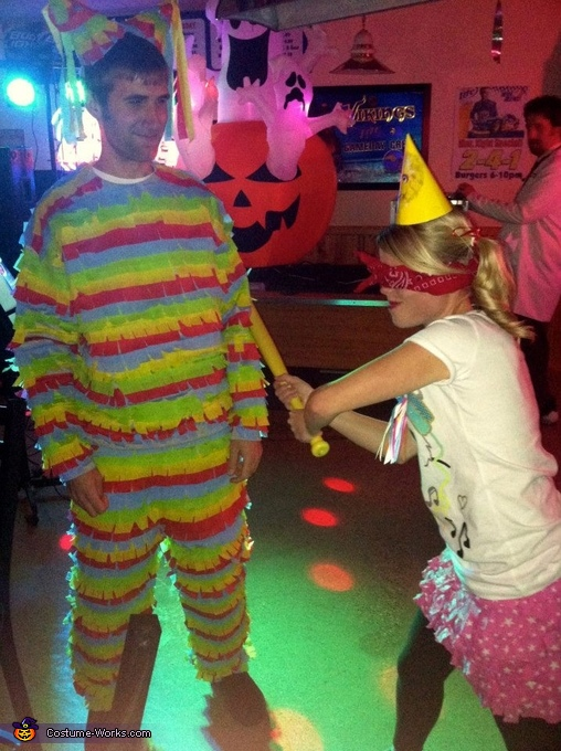 Pinata and Birthday Girl Couple Costume