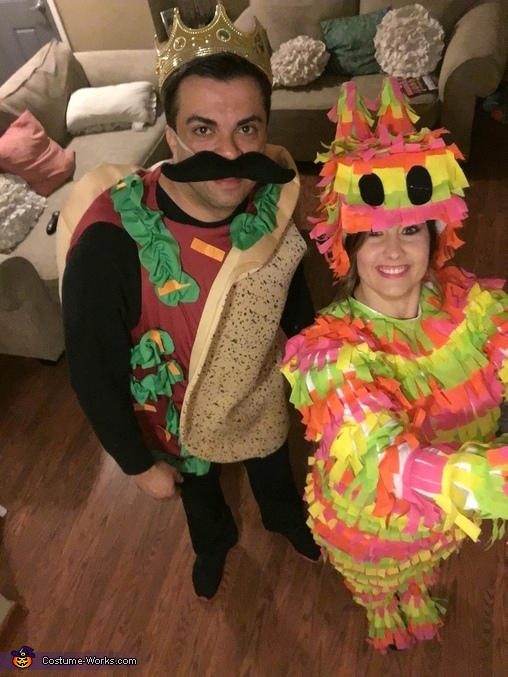 taco and donkey pinata, Pinata and Taco Costume
