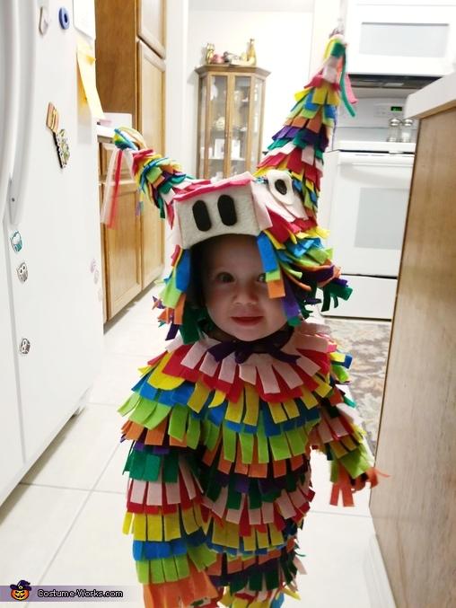 Pinata Costume, Pinata Costume
