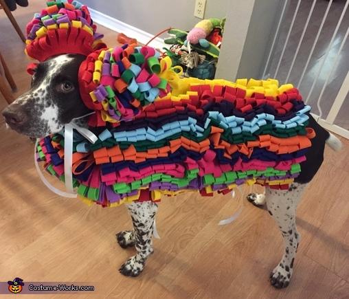 Goose the Pinata Costume