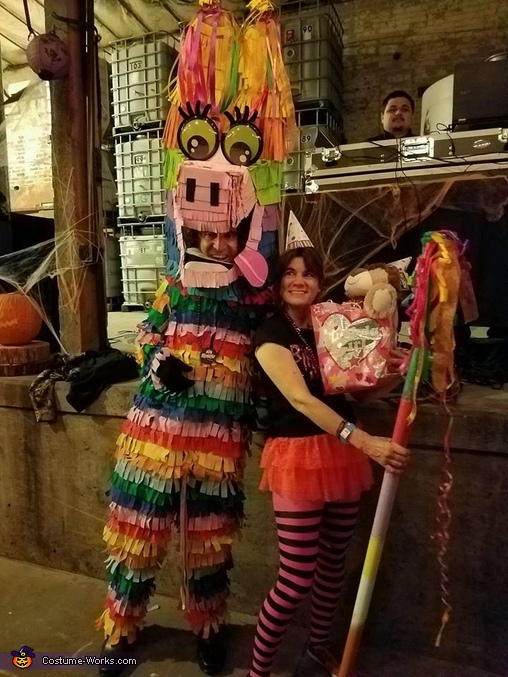 Pinata Girl Costume