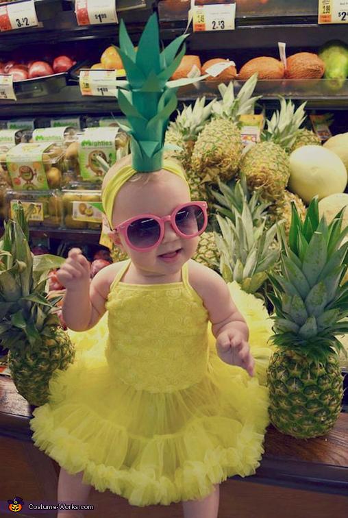 Pineapple Cutie Costume