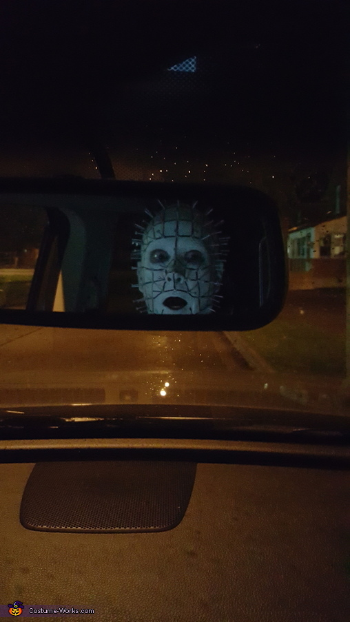 rear view mirror pinhead, Pinhead from Hellraiser Costume