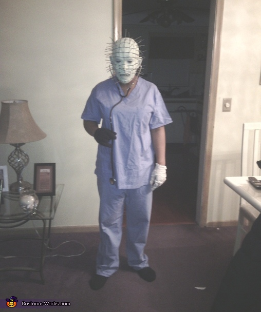 Pinhead Nurse Costume