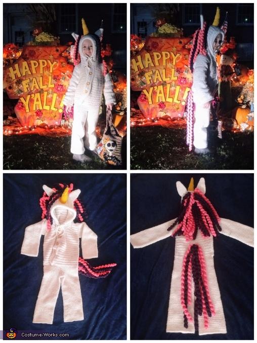 Collage, Pink and Purple Unicorn Costume