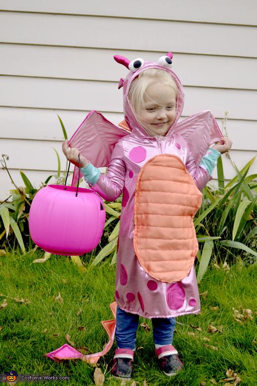 Pink Fire Dragon Costume
