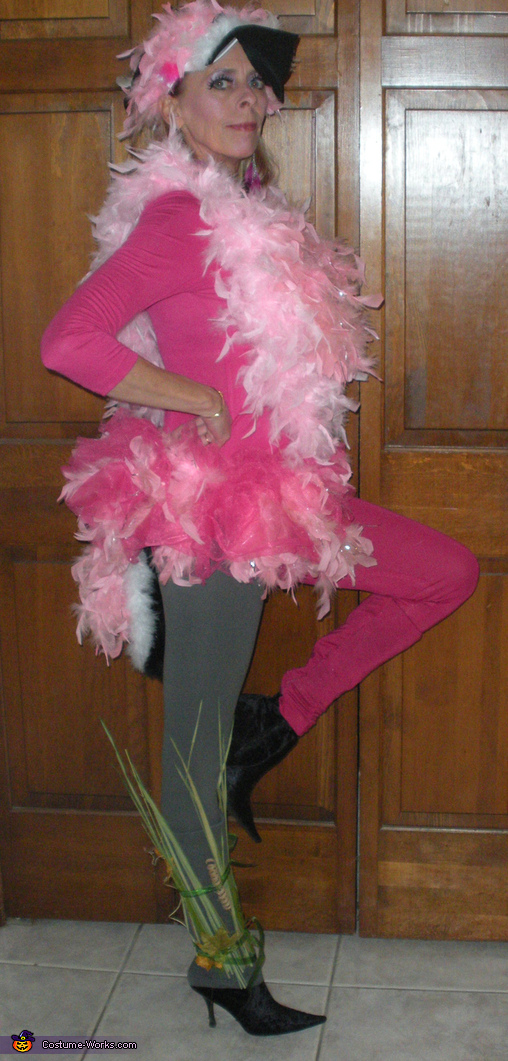 Pink Flamingo Lawn Ornament Costume  sc 1 st  Costume Works : homemade flamingo costume  - Germanpascual.Com
