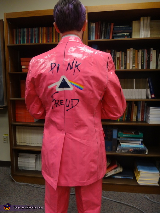 Pink Freud back, Pink Freud Costume