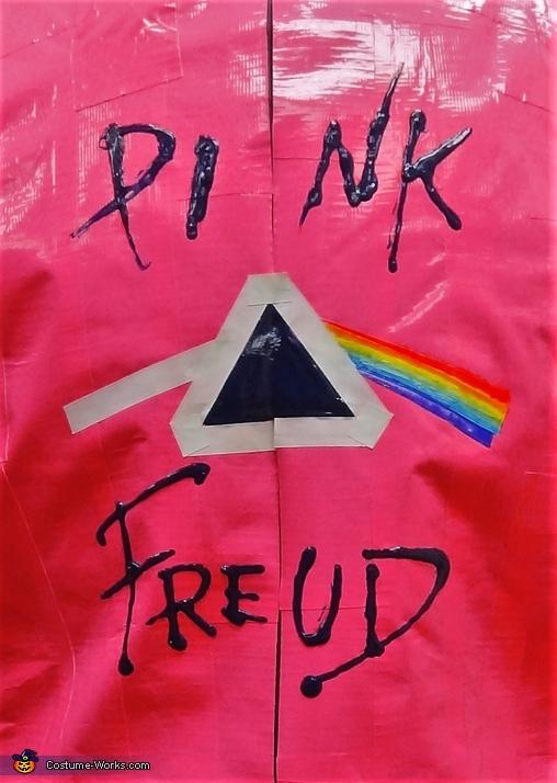 Pink Freud back closeup, Pink Freud Costume