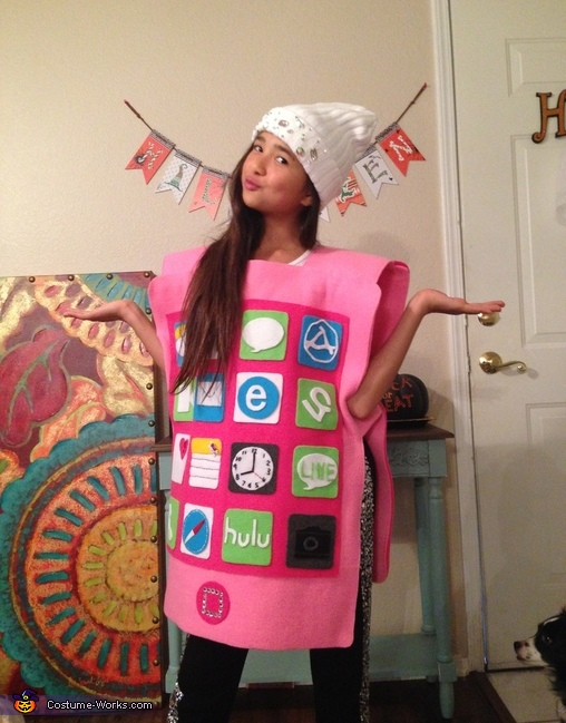 Pink iPhone Costume
