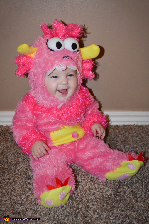Pink Little Monster Costume