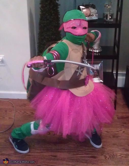 Pink Ninja Turtle Costume