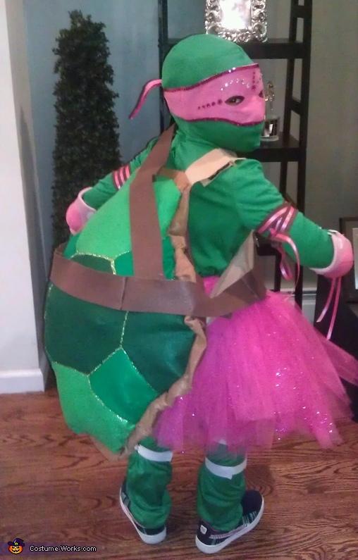 Pink TMNT, Pink Ninja Turtle Costume