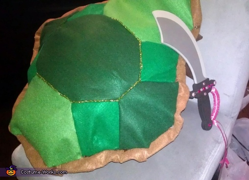 Pink Ninja Turtle Homemade Costume