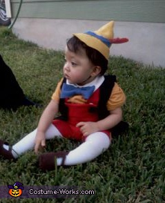 Taking a break , Pinocchio Costume