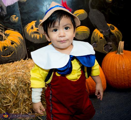 Pinocchio Homemade Costume