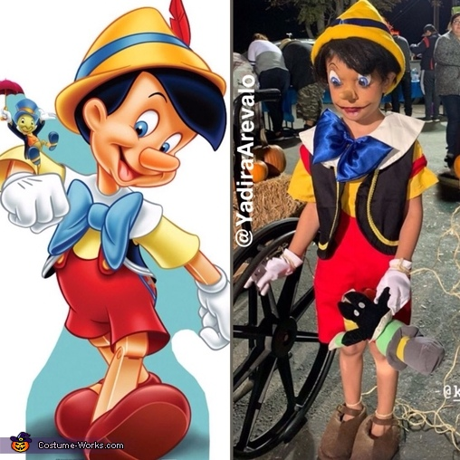 I'm a real boy, Pinocchio Costume