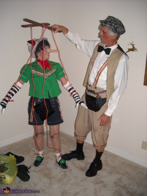 Pinocchio and Geppetto Costume
