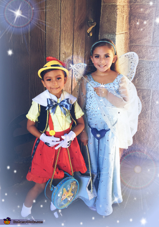 Pinocchio and the Blue Fairy Costume