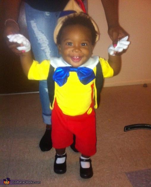 Pinocchio Baby Costume