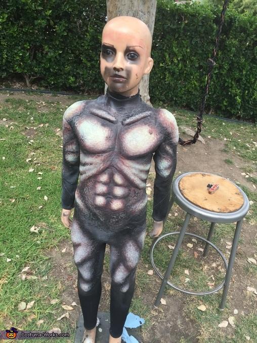 Pint-sized Predator Homemade Costume