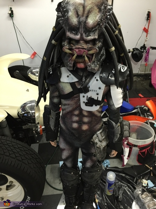Pint-sized Predator Homemade Costume