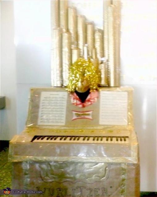 DIY Pipe Organ costume